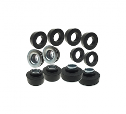 Camaro Subframe Bushing Set, Coupe Or T-Top, With Steel Sleves,1973-1981