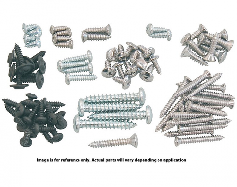 Camaro Interior Screw Kit, 1970-1973