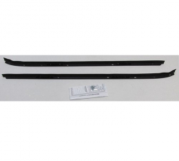 Camaro Outer Windowfelt Weatherstrip, for Cars with Chrome Moldings, 1970-1981