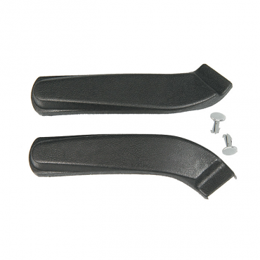 Camaro Bucket & Bench Seat Hinge Arm Covers, With Fasteners, 1967-1970