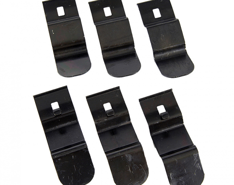 Camaro Dash Pad Attachment Clip Set, 1969