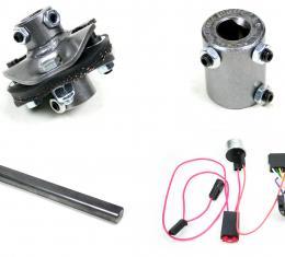 ididit Steering Column Installation Kit - 66 Chevelle Front Steer C/S/R - 13/16-36 3006006000