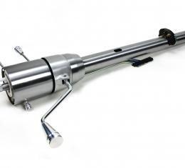 ididit CUSTOM 1965-66 Impala Tilt Column Shift Steering Column - Brushed 1150669930