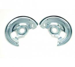 Nova Disc Brake Backing Plates, Correct Reproduction, 1967-1968