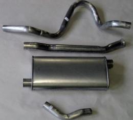 Nova Single Exhaust System Cat Back For 6 Cylinder, V8 Aluminum, 1975-1979