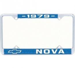 Nova License Frame, 1979