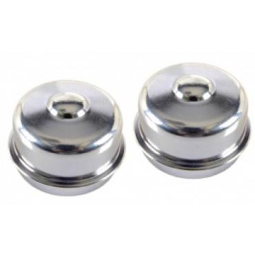 Chevy II Or Nova, Wheel Bearing Dust Caps, Front, 1964-1972