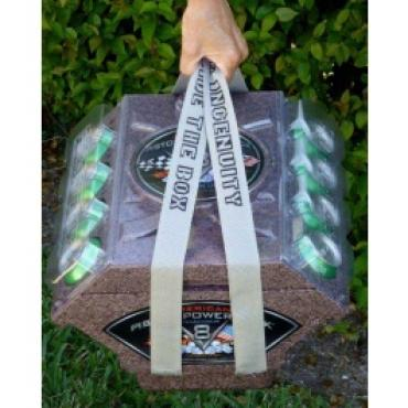 Piston Power Pack Drink Cooler Carrying Straps