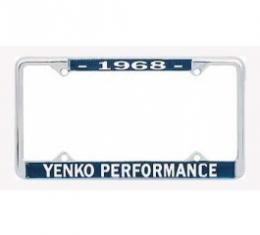 Nova Yenko Performace License Frame, 1968