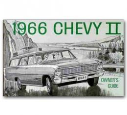 Nova Chevy II Owner's Manual, 1966
