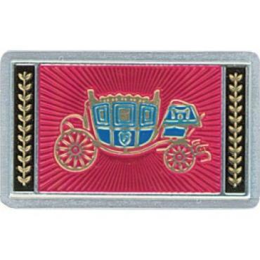 Nova Emblem, Seat Belt Buckle, Deluxe, 1965-1966
