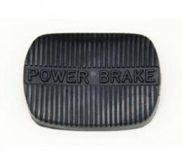 Nova Power Brake Pedal Pad, Manual Transmission, 1962-1967