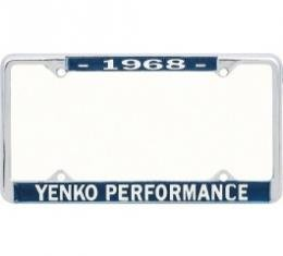 Nova License Frame, Yenko, 1968