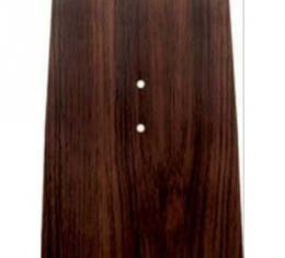 Nova Panel Plate, Console, Forward, Cherry Wood, 1968-1974