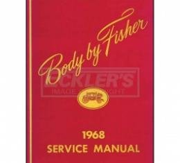 Nova And Chevy II Body By Fisher Service Manual, 1968