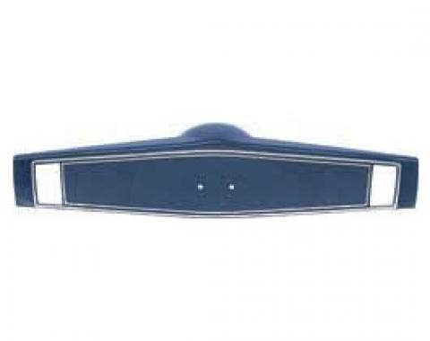 Nova Steering Wheel Shroud, Two Button, Dark Blue, 1969-1970