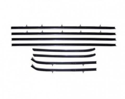 PUI Standard Windowfelt Weather Strip Kit 1962-79 Chevy II/Nova 2-Door Sedan F277-1