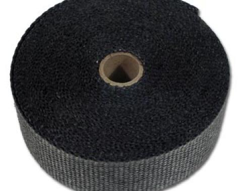 "Corvette Exhaust Wrap, Black 2"" X 50'"