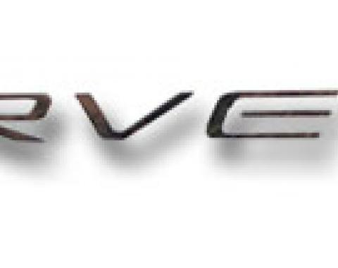 Corvette Dash Letter Kit, Chrome, 1997-2004