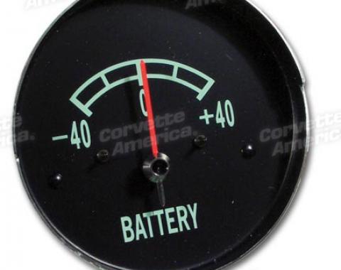 Corvette Ammeter/Battery Gauge, 1965-1967