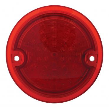 United Pacific 41 LED Tail Light Lens, Red For 1960-66 Chevy & GMC Stepside Truck CTL6066LED