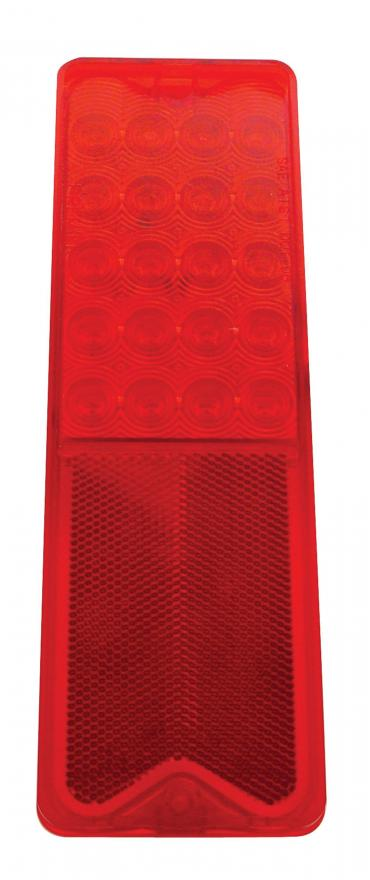 United Pacific 20 LED Tail Light, Red Lens And Red LED For 1967-72 Chevy Truck Fleetside CTL6721LED
