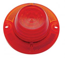United Pacific 40 LED Tail Light Lens, Red For 1962 Chevy Impala CTL6201LED