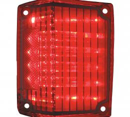 United Pacific 36 LED Tail Light Lens For 1970-72 Chevy El Camino & Station Wagon - L/H CTL7072LED-L