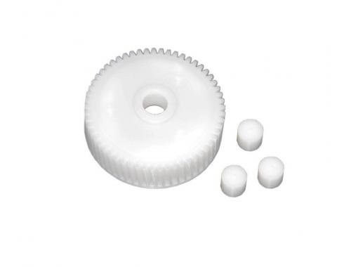 Corvette Headlight Motor Gear & Pellet Set, Nylon, 1988-1996