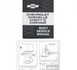 Full Size Chevy Passenger Body Service Manual, 1965