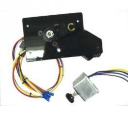 Full Size Chevy Electric Wiper Motor, Replacement, With Delay Switch,1958