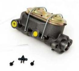 Full Size Chevy Dual Master Cylinder, For Manual Disc Brakes, 1958-1972