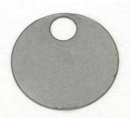 Full Size Chevy Differential Id Tag, 3:55 Ratio, 1958-1962