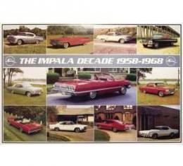 Chevrolet Impala Decade Poster, 1958-1968
