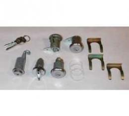 Full Size Chevy Complete Lock Set, All Except 2-Door Hardtop & Convertible, 1964