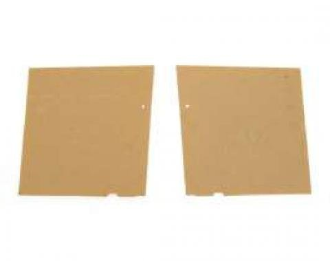 Full Size Chevy Rear Quarter Panel Boards, Convertible, 1959-1960
