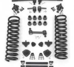 Full Size Chevy Front End Suspension Rebuild Kit, With Standard Coil Springs & Polyurethane Bushings, 1958-1960