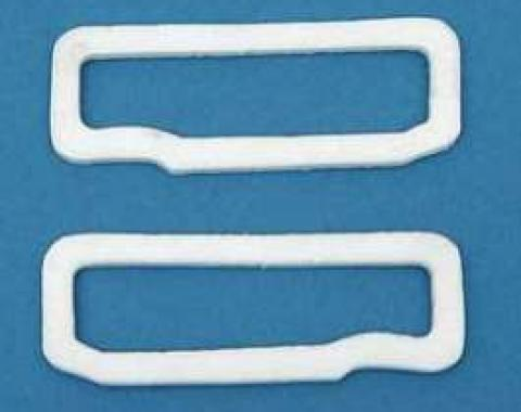 Full Size Chevy Parking Light Lens Gaskets, 1968