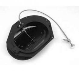 Full Size Chevy Fresh Air Vent Assembly, With Cable & Chrome Knob, Right, Impala, 1964