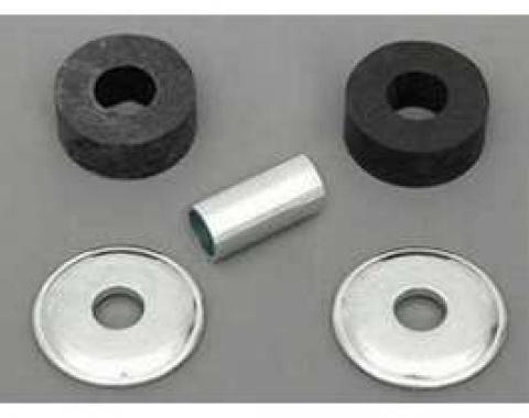 Full Size Chevy Power Steering Cylinder To Frame Bracket Bushing, Washer & Sleeve Hardware Kit, 1958-1964