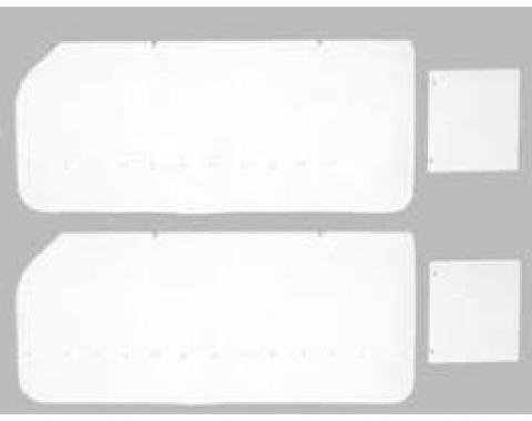 Full Size Chevy Water Shields, Door & Rear Quarter, Convertible, Impala, 1963-1964