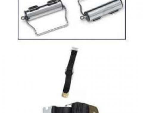 Seatbelt Solutions 1958-1972 Full Size Chevy Seatbelt Retractors 6466WINDERS | Chrome