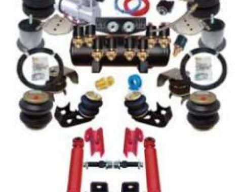 Full Size Chevy Air Ride Suspension Kit, Complete, 1958-1964