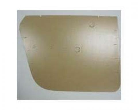 Full Size Chevy Door Panel Boards, Rear, 4-Door, 1962