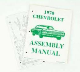 Full Size Chevy Factory Assembly Manual, 1970
