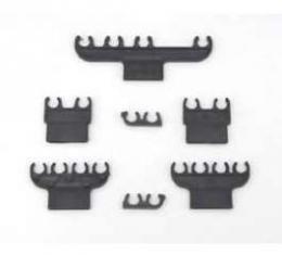 Full Size Chevy Spark Plug Wire Retainer Set, 396ci & 427ci & 454ci, 1967-1974