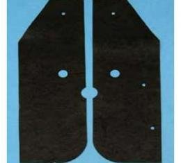Full Size Chevy Front Bumper Filler Seals, 1969