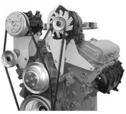 Chevy Engine Brackets, Big Block, Long Waterpump, High Mount, Alternator & Air Conditioning Compressor, 1958-1972