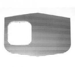 Full Size Chevy Shift Plate Insert, 4-Speed, Impala SS, 1962