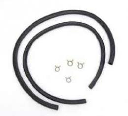 Full Size Chevy Heater Hose Kit, With Clamps, 1965-1970